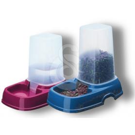 Distributeur double usage : eau ou croquettes