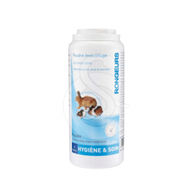 Poudre antiparasitaire rongeur