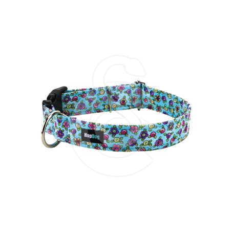 Collier Hop Dog Flower Power