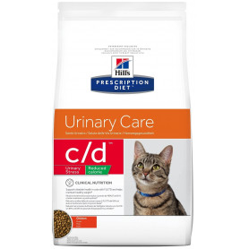 Feline C/D Urinary Stress Reduced Calorie Poulet
