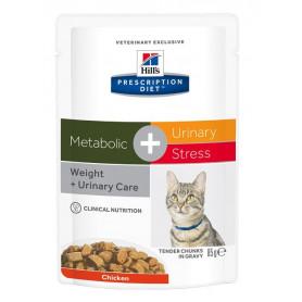 Feline Metabolic + Urinary Stress sachet repas