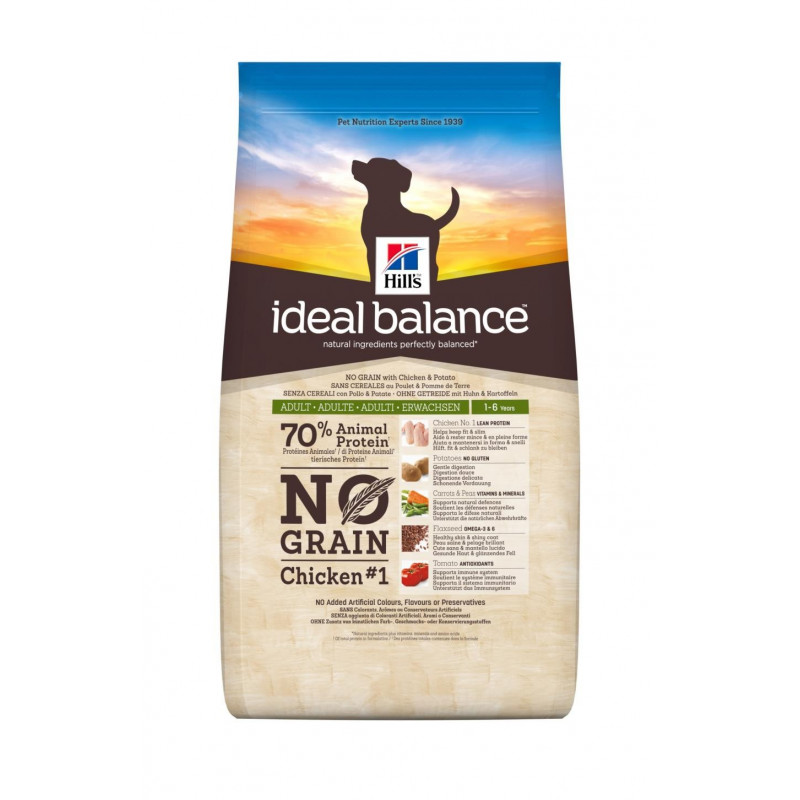 Ideal Balance Canine Adult Sans Cereales Poulet