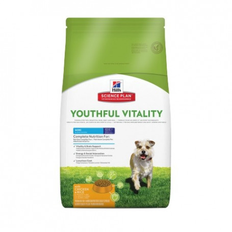 Canine Adult 7+ Youthful Vitality Mini Poulet & Riz