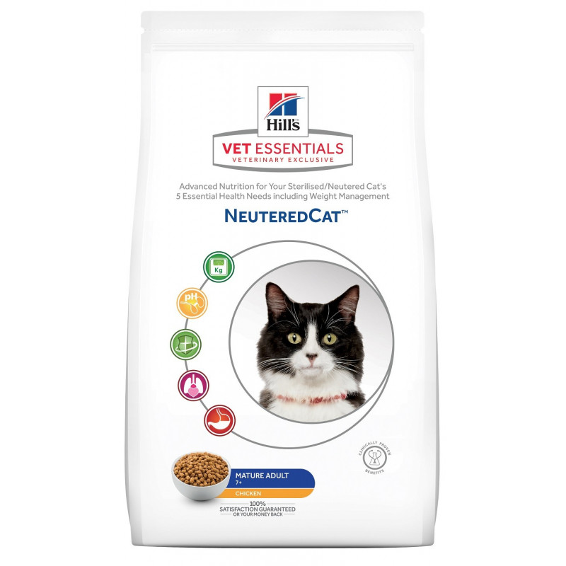 Vetessentials Neuteredcat Mature Poulet