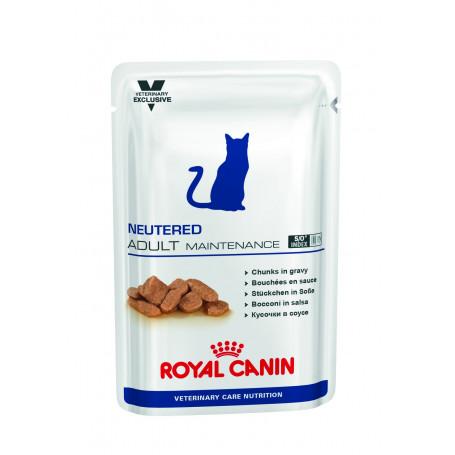 Vet Care Nutrition Cat Neutered Adult Maintenance sachet repas