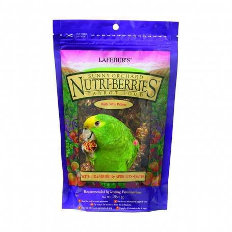 Nutri-Berries Sunny Orchard Parrot