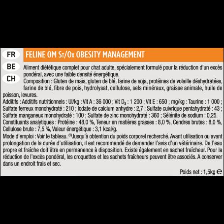 Ppvd Feline OM Stox Obesity