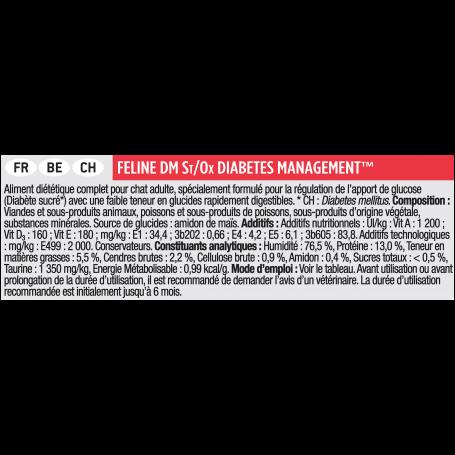 Ppvd Feline DM Stox Diabetes Boîte