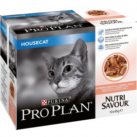 Cat Housecat Salmon Effilé sachet repas