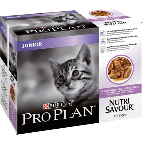Cat Junior Turkey Effilé sachet repas