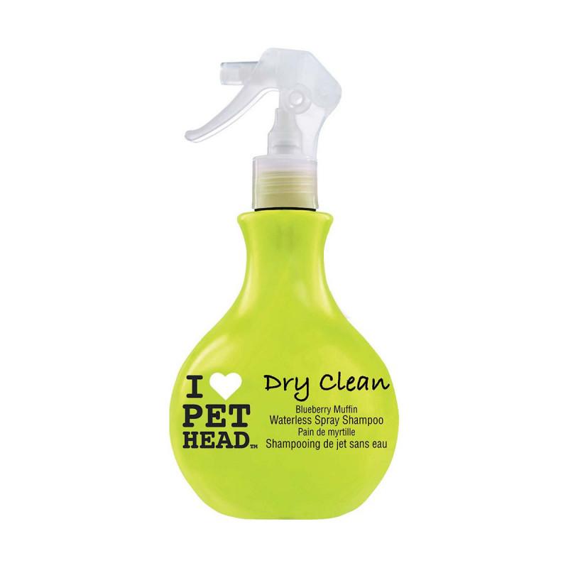 Shampoing Pet Head Dry Clean Sec sans rinçage