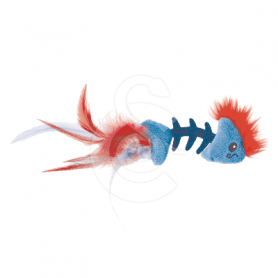 Jouet chat Petstages : Feather Fish Bone