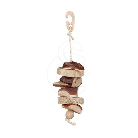 Jouet oiseau : jouet naturel en bois - 33 cm