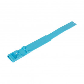 Bracelet plastique pour repérage des bovins