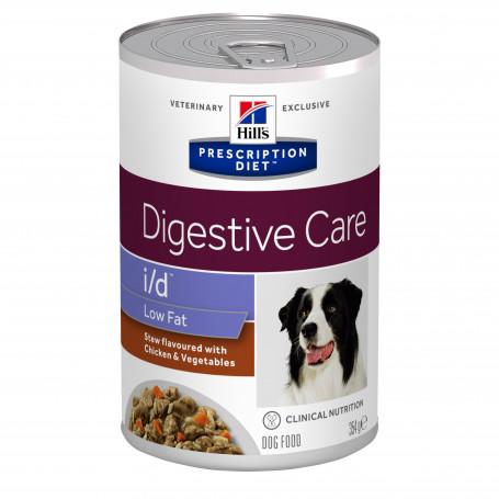 Canine I/D Low Fat Digestive Care Mijotés Poulet & Légumes Boîte