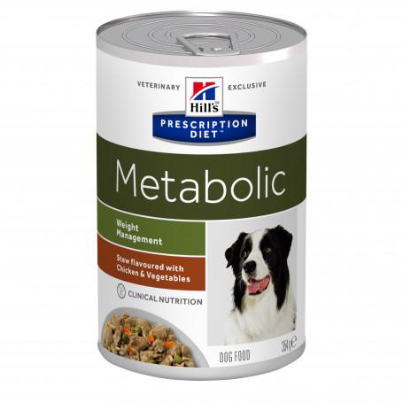 Canine Metabolic Mijotés Poulet & Légumes Boîte