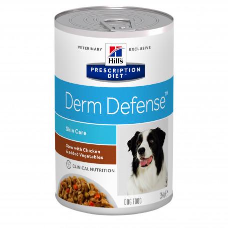 Canine Derm Defense Mijotés Poulet & Légumes Boîte