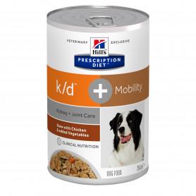Canine K/D + Mobility Mijotés Poulet & Légumes Boîte