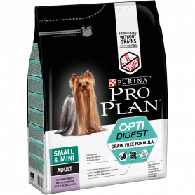Dog Small & Mini Adult Optidigest Grain Free Dinde