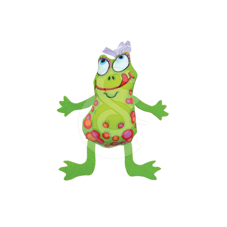 Jouet chat Petstages : Frog & Fly