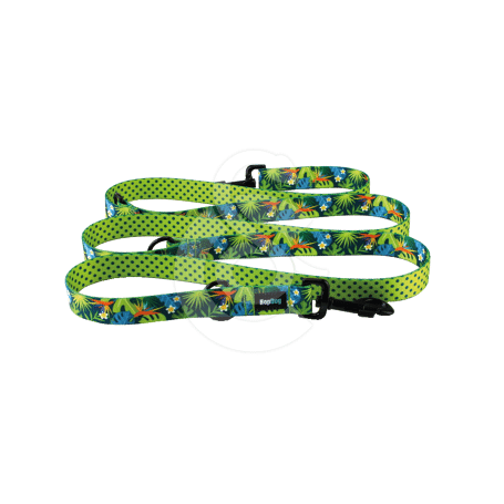 Laisse Hop Dog Tropics Time multiposition