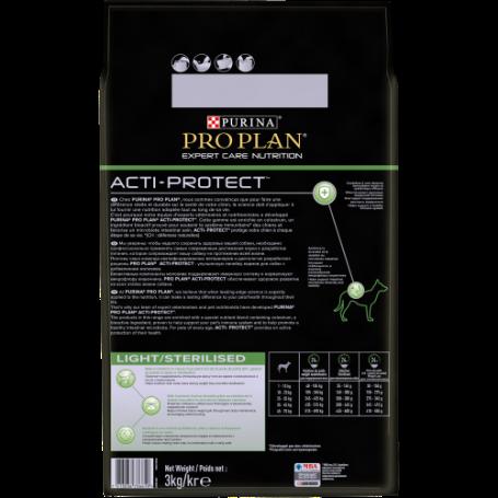 PRO PLAN CHIEN EXPERT CARE NUTRITION Light/Sterilised au Poulet