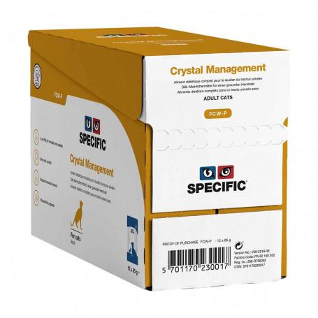 Specific FCW-P Crystal Management Sachet repas