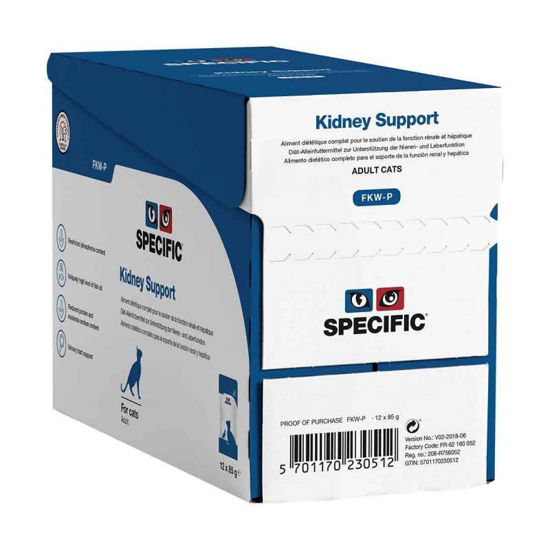 Specific FKW-P Kidney Support Sachet repas