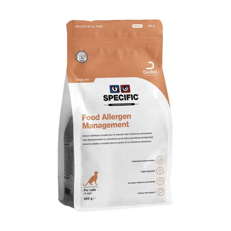Specific FDD-HY Food Allergen Management