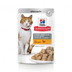 Feline Sterilised Cat Young Adult Poulet sachet Repas