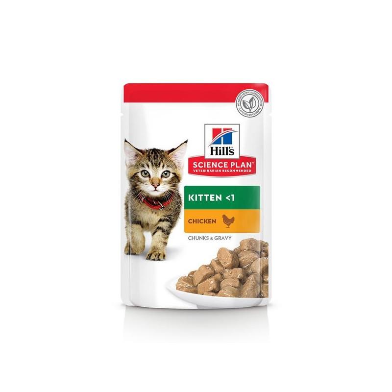 Kitten Poulet sachet Repas