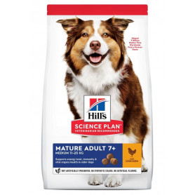 Canine Mature Adult 7+ Medium Poulet