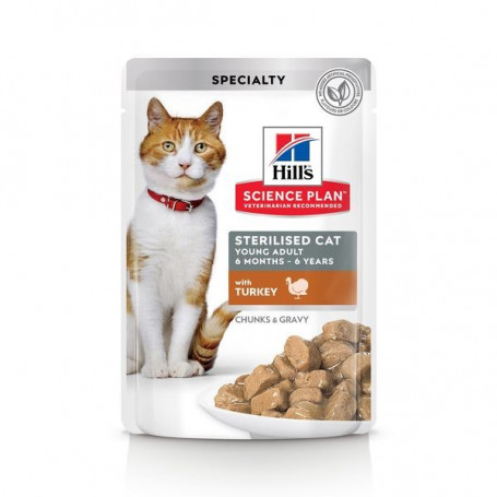 Feline Sterilised Cat Young Adult Pack Mixte sachet repas