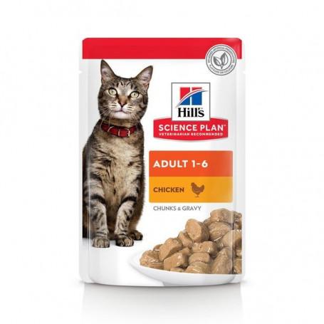 Feline Adult Poulet sachet Repas