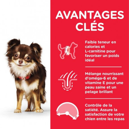 Canine Adult Light Small & Mini Poulet