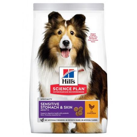 Canine Adult Medium Sensitive Stomach & Skin Poulet