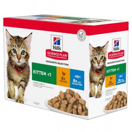 Kitten Pack Mixte sachet repas