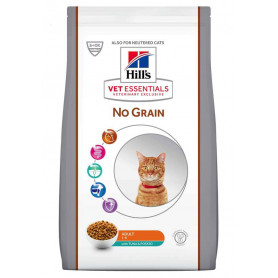 Vet essentials Feline Adult No Grain Thon & Pomme de terre