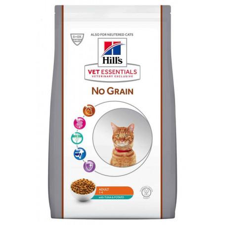 Vet essentials Feline Adult No Grain Thon & Pomme de terre