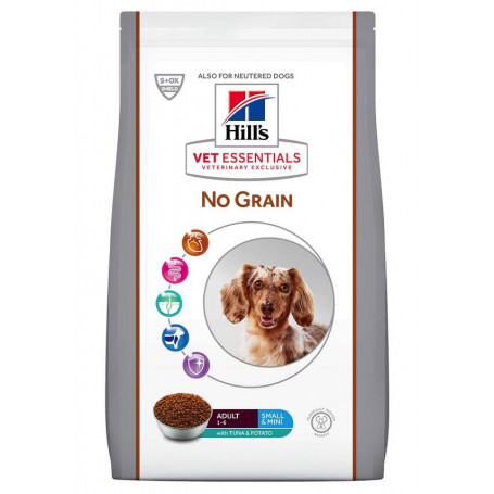 Vet essentials Canine Adult Small & Mini No Grain Thon & Pommes de Terre