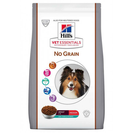 Vet essentials Canine Adult Medium No Grain Thon & Pommes de terre