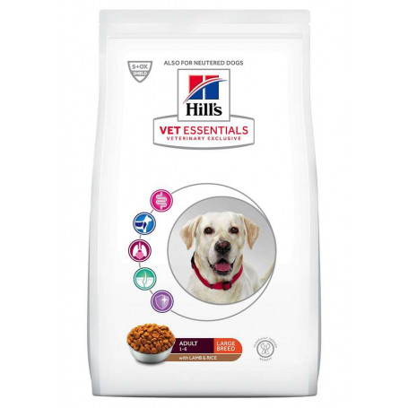 Vet essentials Canine Adult Large Breed Agneau & Riz
