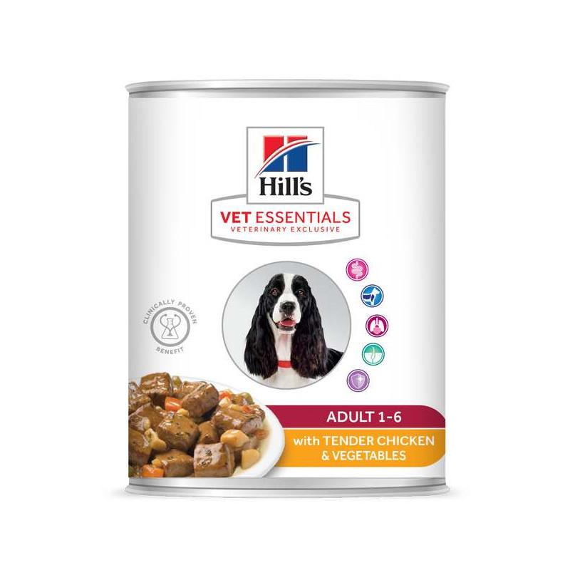 Vet essentials Canine Adult Poulet & Légumes Boîte