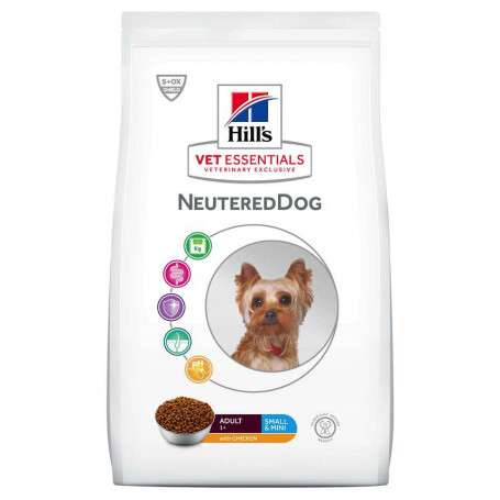 Vet Essentials Adult Neutered Dog Small & Mini Poulet