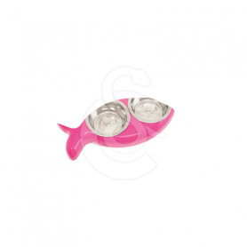 Gamelle 2 en 1 Cat Fish Bowl double