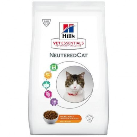 Vet essentials Neutered Cat Young Adult Poulet