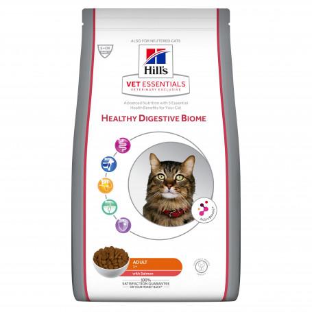 Vet Essentials Feline Adult Healthy Digestive Biome Saumon